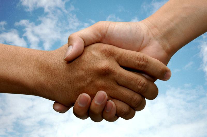 Risultati immagini per handshake with God